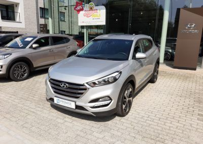 Hyundai Tucson 1.6T-GDI  7-DCT 01/2018 Verkocht