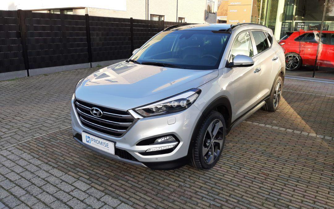 Hyundai Tucson 1.7D 7-DCT 01/2018 Verkocht
