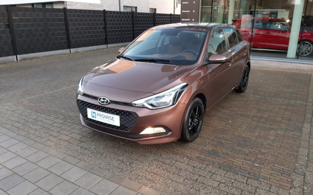 Hyundai i20 1.2B 11/2017 Verkocht