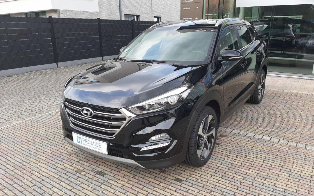 Hyundai Tucson 1.7D 11/2017 Verkocht