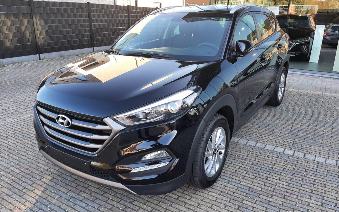 Hyundai Tucson 1.7D 03/2016 Verkocht