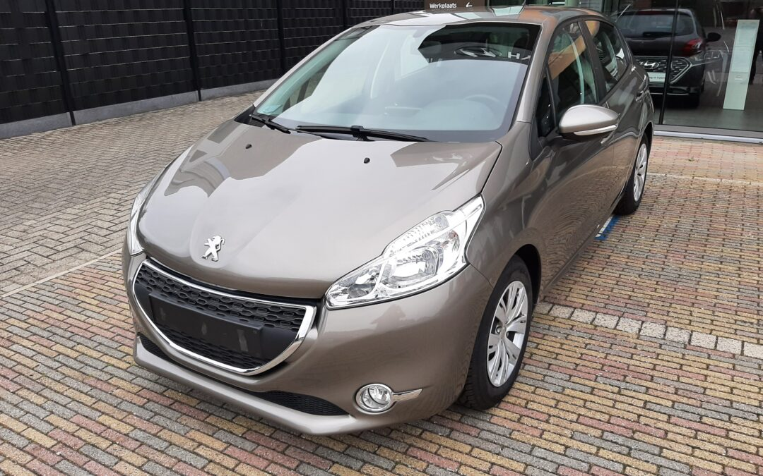 Peugeot 208 1.1B 02/2013 Verkocht